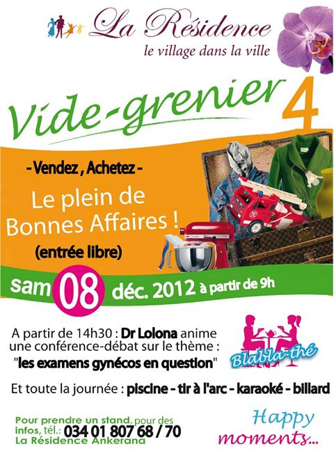 14602 10151208371528768 137327179 n Les vides greniers made by La Résidence Ankerana