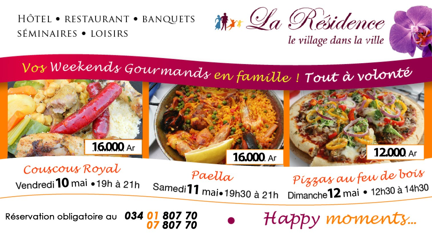914059 10151483108053768 87620903 o Les week ends gourmands by La Résidence d'Ankerana